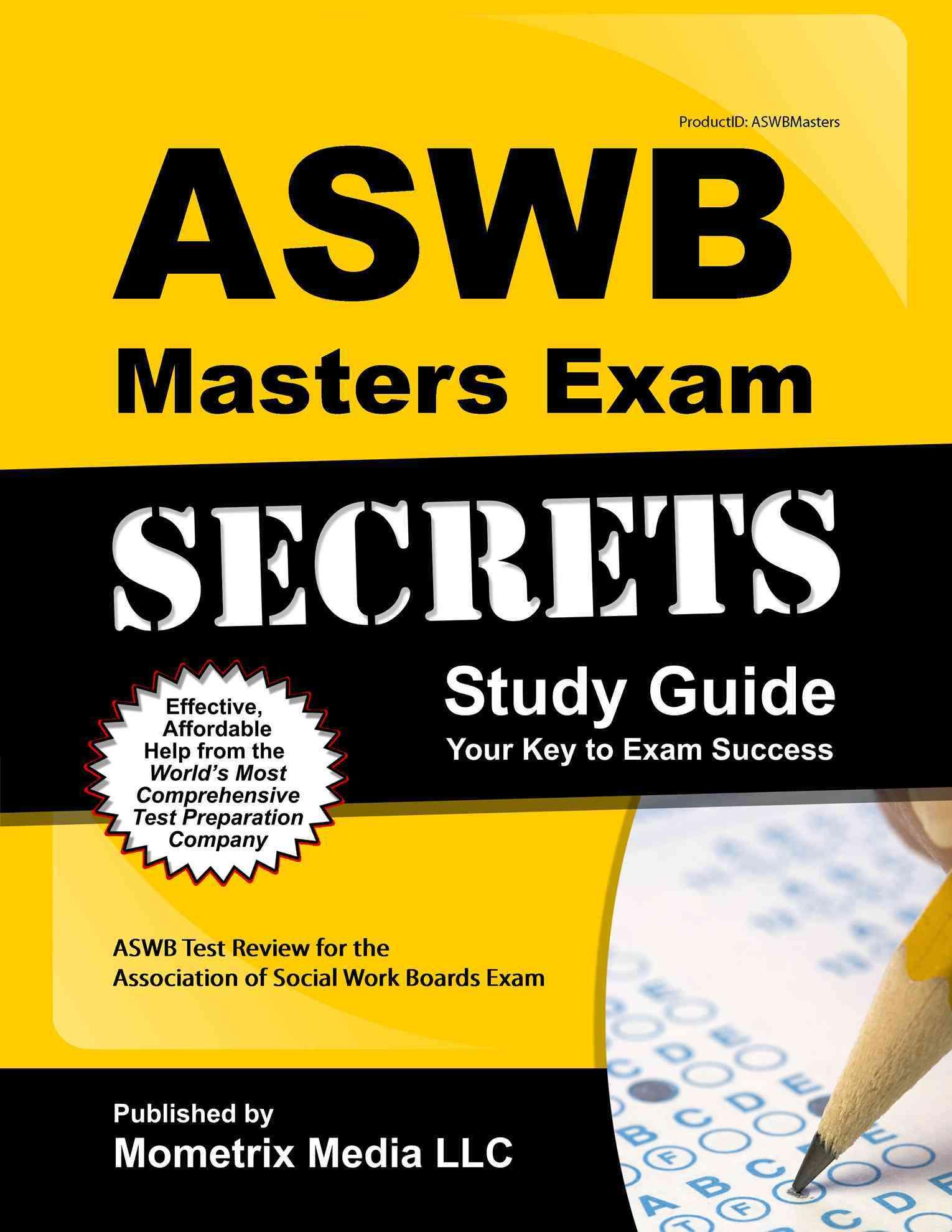 ASWB Masters Exam Secrets By Mometrix Media (COR) [Study Guide Edition]